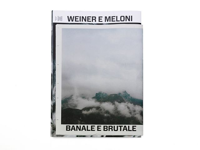 Banale e Brutale, 16 pages #journal designed by @jadoooh and published  by @atmospheriquesnarratives An investigation on the #vajont territory #dolomiti and the #dam #catastrophy #eventAn invitation of @calamitaproject #creativedirection #photos and texts by @atmospheriquesnarratives founders @cyrilleweiner and @giaimemeloni Printed by @newspaperclub #brutalism #architecture #landscape #concrete #photography #publishingLimited edition. Almost sold out. Last copies available @librairie_volume
