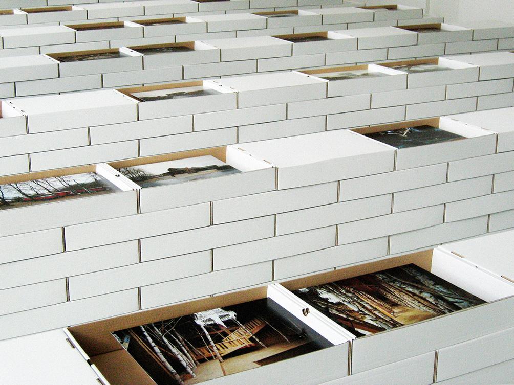 Patrick Bouchain, Oui avec plaisir | exhibition at villa Noailles  Photography Cyrille Weiner | scenography Isabelle Allégret Patrick Bouchain and Cyrille Weiner